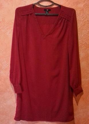 Платье-рубашка  h&m