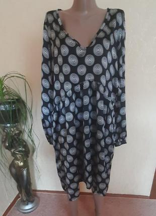 Платье в бохо стиле батал