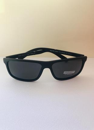 Очки солнцезащитные мужские вайфарер матовые polarized