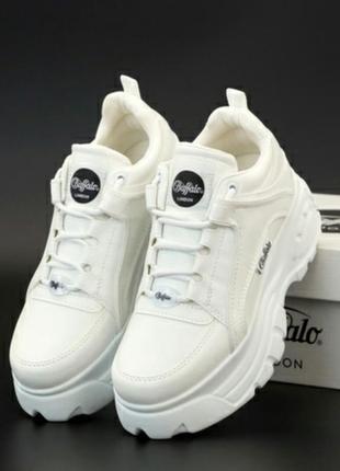 Кросівки buffalo white кроссовки