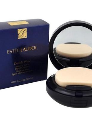 Тональное средство estee lauder double wear makeup to go liquid compact 2n1