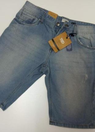 Джинсовые мужские шорты от бренда ovs, италия