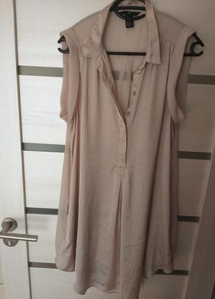Длинная блузка, платье рубашка.