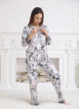 Пижама женская из вискозы