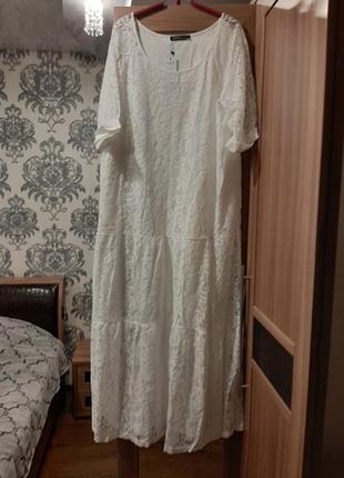 Zanzea кружевное винтажное платье свободное макси в стиле бохо от с до 5 хл9 фото