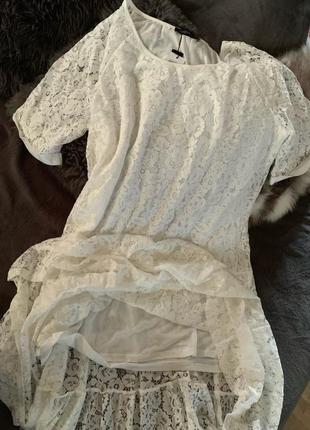 Zanzea кружевное винтажное платье свободное макси в стиле бохо от с до 5 хл10 фото