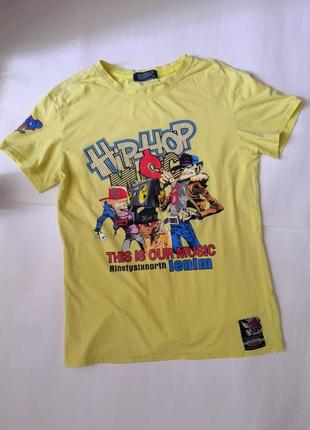 Стильная футболка baxy boy, hip hop, размер л