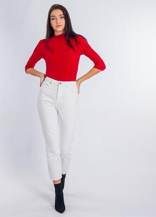 Стильные женские джинсы момы нежного молочного цвета, lost ink, sale до 05.06
