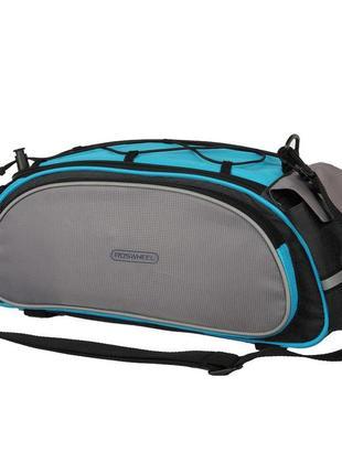 Сумка roswheel на багажник 14541-b blue-grey