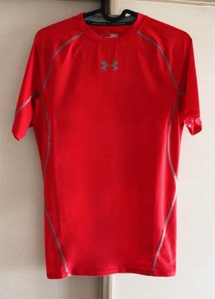 Оригинал under armour heatgear armour ss компрессионное белье 1257468-600 футболка