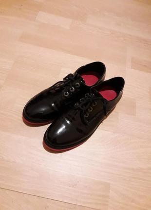 ⬇️лаковые ботиночки(лабутены😉)новые!!!