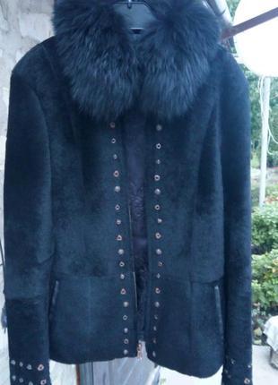 Шикарная курточка,мех пони