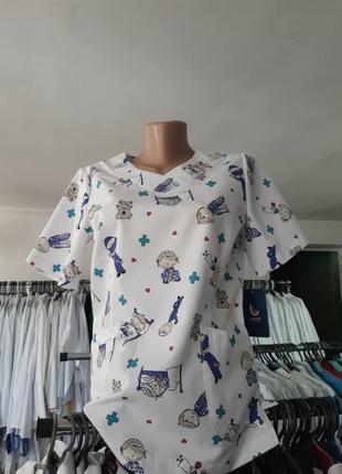 Медична блуза жіноча