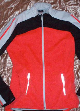 Crane софтшелл. softshell куртка деми. велокуртка 40 размер