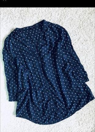 Рубашка туника в цветочки оверсайз oversize