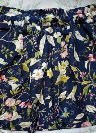 Летняя юбка в цветочный принт oasis