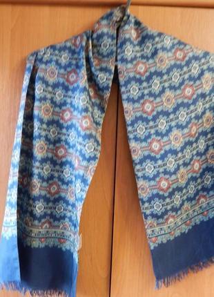 Шелковый шарф120х29