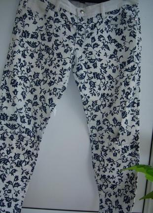 Джинсовые брюки зауженныер.евро121 фото