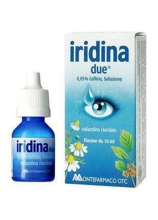 Капли иридина, капли iridina due5 фото