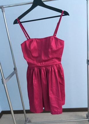 Платье forever 21 мини на выход короткое  сарафан