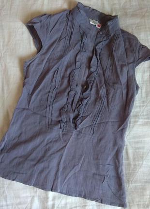 Летняя блузочка с коротким рукавом