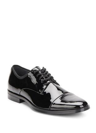 Лаковые туфли дерби calvin klein