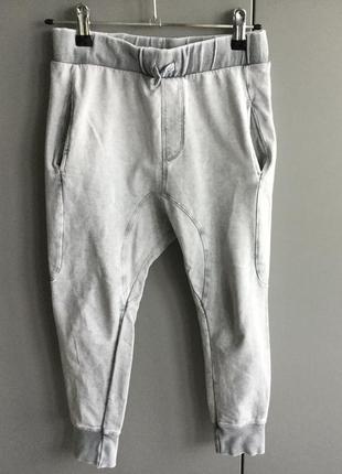 Штаны брюки zara с заниженной проймой