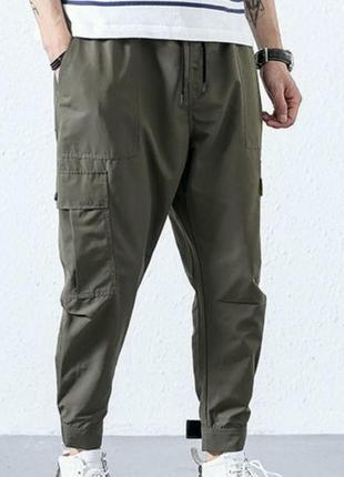 Спортивные штаны,хит 2020, с карманами карго, размер м