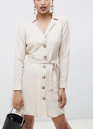 Стильное деловое платье asos 🌸доставка15 грн