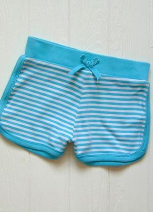 M&co. размер 6-7 лет. яркие трикотажные шорты для девочки