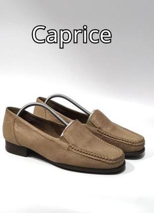 Кожаные туфли caprice