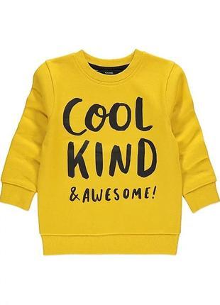 Свитер пуловер свитшот на мальчика 5-6 лет george