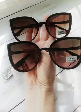 """Солнцезащитные очки """"кошечки"""""""