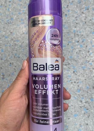 Лак для волос объем balea, 300ml. германия1 фото