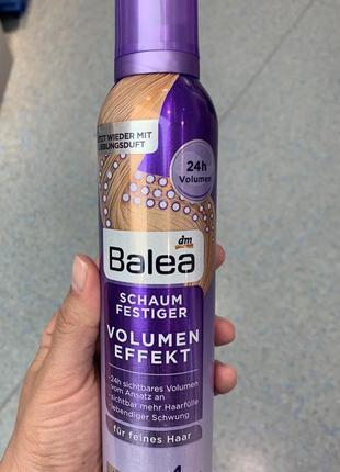 Пенка для волос эффект объема balea, 250 ml 5германия