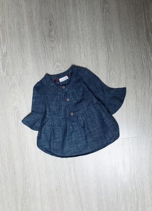 Туника кофта джинсова