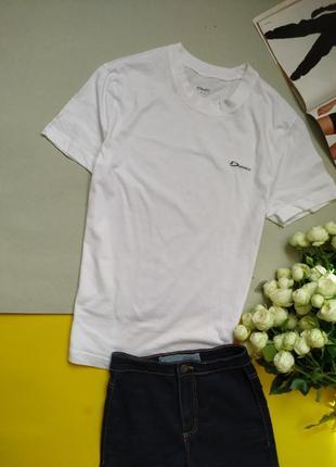 Базовая белая футболка, хлопок