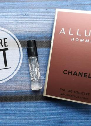 Пробник chanel allure homme