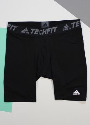 Компрессионные шорты от adidas tech fit