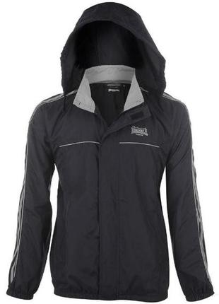 Мужская спортивная куртка,ветровка синяя lonsdale оригинал-l-ка