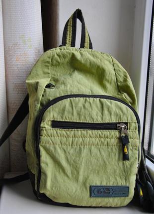 Рюкзак stalz болотного цвета из плащёвки