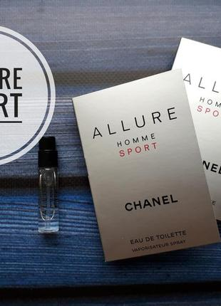 Пробник chanel allure homme sport