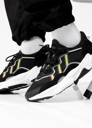 Мужские кроссовки adidas ozweego adiprene black