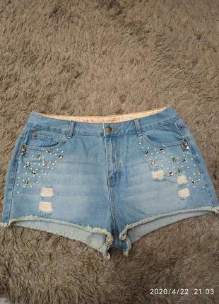 Шорты джинсовые denim co ирландский бренд
