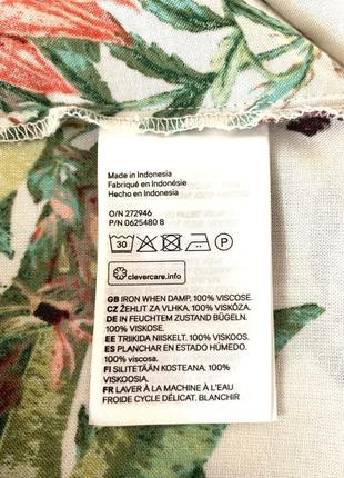 Брендовое котоновое платье свободного фасона от h&m3 фото
