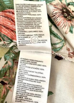 Брендовое котоновое платье свободного фасона от h&m4 фото