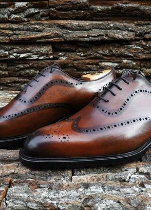 Новые броги evalon от бренда flecs италия 43 размер