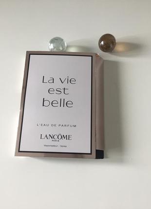 Пробник духів lancome la vie est belle