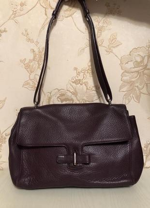 Шикарная сумка натуральная кожа бренда navyboot