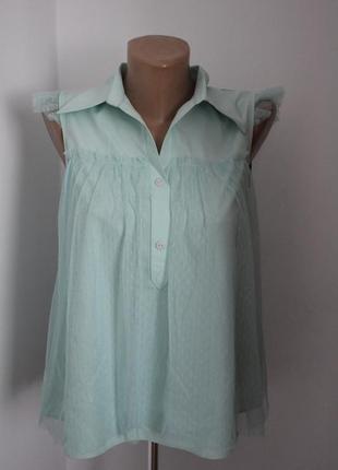 Блузка з комірчиком
